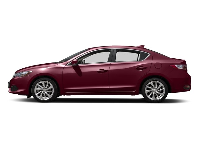 Basque Red Pearl II 2016 Acura ILX Pictures ILX Sedan 4D Technology Plus I4 photos side view