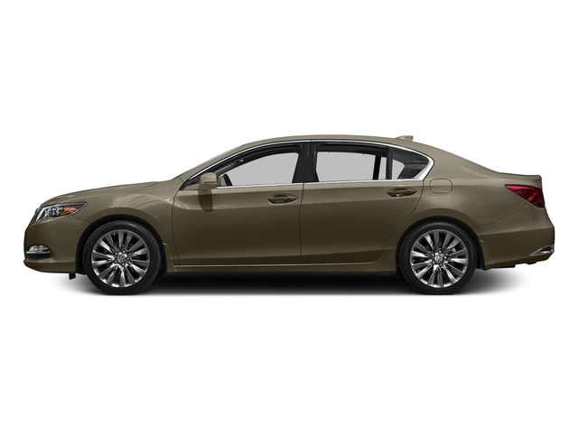 Gilded Pewter Metallic 2016 Acura RLX Pictures RLX Sedan 4D Advance V6 photos side view