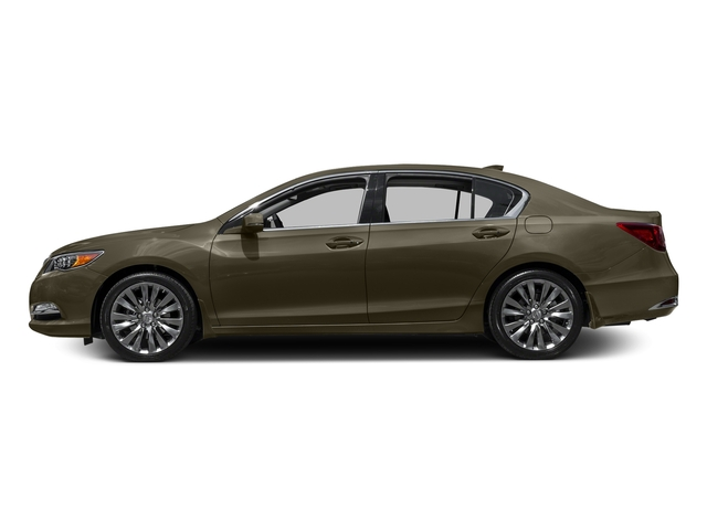 Gilded Pewter Metallic 2016 Acura RLX Pictures RLX Sedan 4D Technology V6 photos side view
