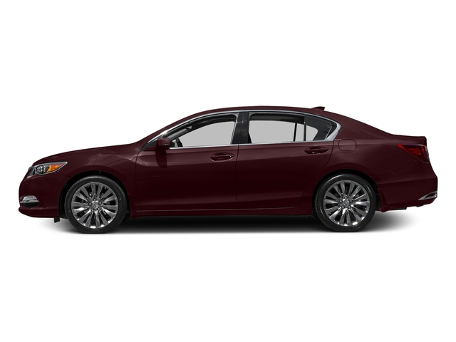 Pomegranate Pearl 2016 Acura RLX Pictures RLX Sedan 4D Technology V6 photos side view