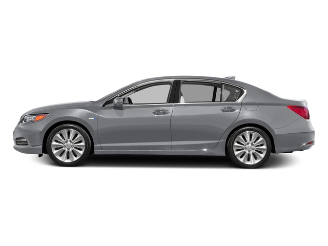 Slate Silver Metallic 2016 Acura RLX Pictures RLX Sedan 4D Technology AWD V6 Hybrid photos side view