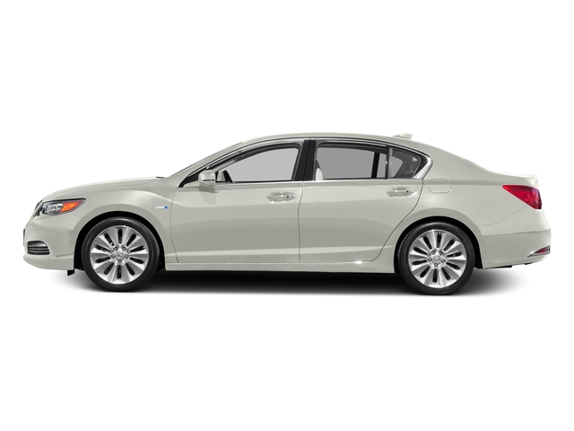 Bellanova White Pearl 2016 Acura RLX Pictures RLX Sedan 4D Advance AWD V6 Hybrid photos side view