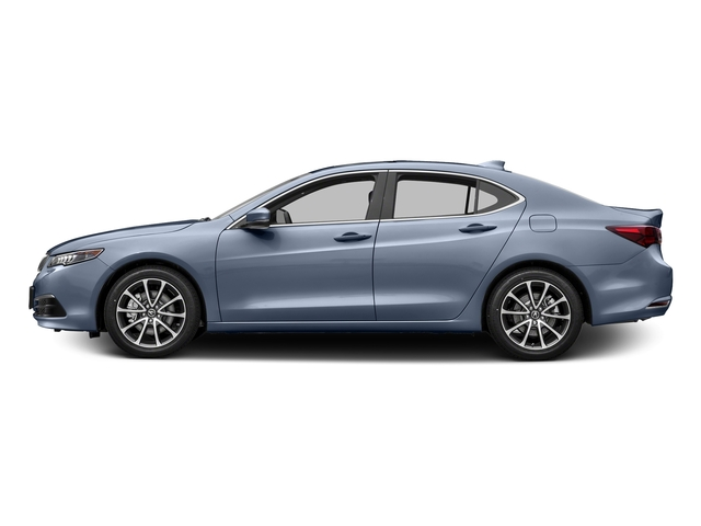 Fathom Blue Pearl 2016 Acura TLX Pictures TLX Sedan 4D Technology V6 photos side view