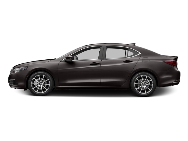 Black Copper Pearl 2016 Acura TLX Pictures TLX Sedan 4D Technology V6 photos side view