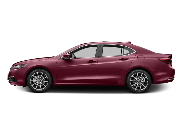 Basque Red Pearl II 2016 Acura TLX Pictures TLX Sedan 4D Technology V6 photos side view