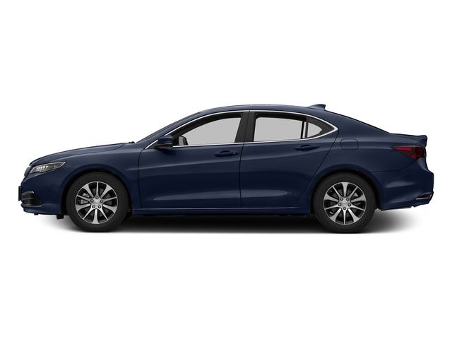Fathom Blue Pearl 2016 Acura TLX Pictures TLX Sedan 4D I4 photos side view