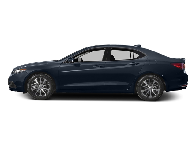 Fathom Blue Pearl 2016 Acura TLX Pictures TLX Sedan 4D Technology I4 photos side view