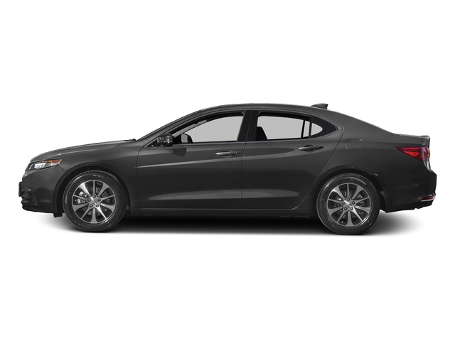 Graphite Luster Metallic 2016 Acura TLX Pictures TLX Sedan 4D Technology I4 photos side view