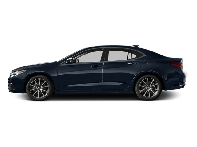 Fathom Blue Pearl 2016 Acura TLX Pictures TLX Sedan 4D V6 photos side view