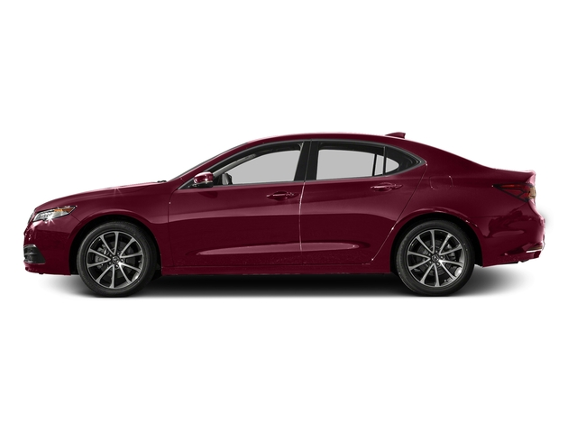 Basque Red Pearl II 2016 Acura TLX Pictures TLX Sedan 4D V6 photos side view