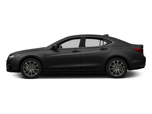 Crystal Black Pearl 2016 Acura TLX Pictures TLX Sedan 4D Technology AWD V6 photos side view