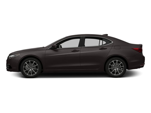 Black Copper Pearl 2016 Acura TLX Pictures TLX Sedan 4D Technology AWD V6 photos side view