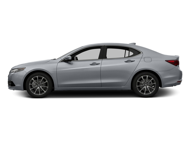 Slate Silver Metallic 2016 Acura TLX Pictures TLX Sedan 4D Technology AWD V6 photos side view