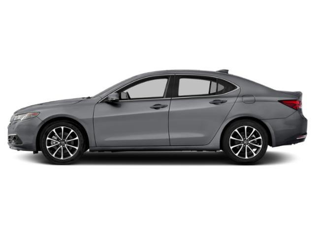 Slate Silver Metallic 2016 Acura TLX Pictures TLX Sedan 4D Advance AWD V6 photos side view