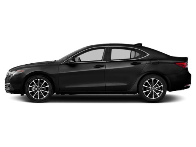 Crystal Black Pearl 2016 Acura TLX Pictures TLX Sedan 4D Advance AWD V6 photos side view