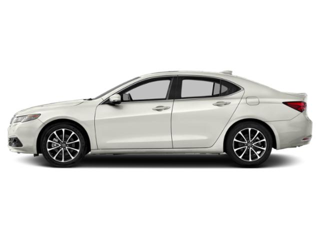 Bellanova White Pearl 2016 Acura TLX Pictures TLX Sedan 4D Advance AWD V6 photos side view