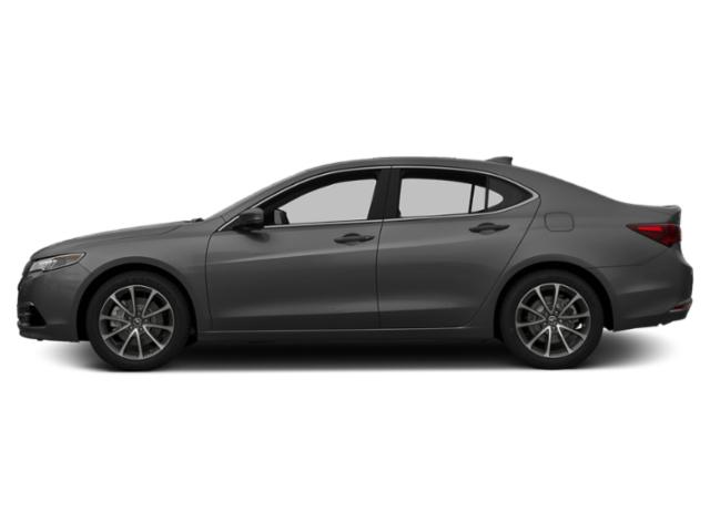 Graphite Luster Metallic 2016 Acura TLX Pictures TLX Sedan 4D Technology AWD V6 photos side view