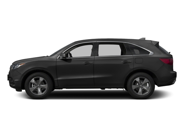 Graphite Luster Metallic 2016 Acura MDX Pictures MDX Utility 4D AWD V6 photos side view