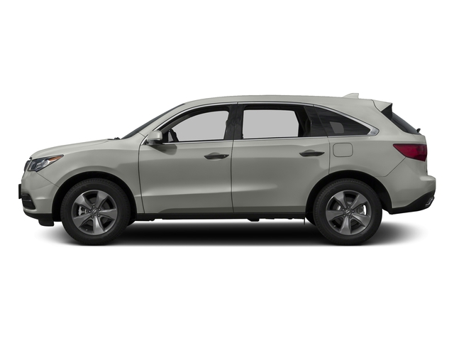 Lunar Silver Metallic 2016 Acura MDX Pictures MDX Utility 4D AWD V6 photos side view