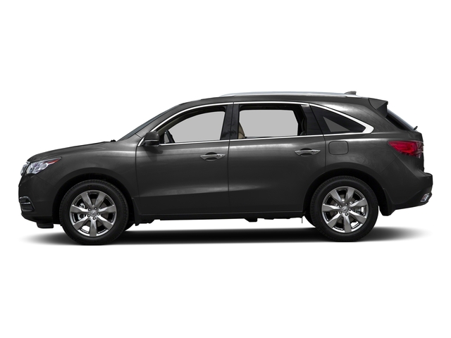 Graphite Luster Metallic 2016 Acura MDX Pictures MDX Utility 4D Advance AWD V6 photos side view