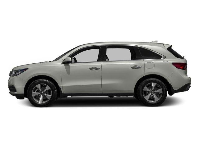 Lunar Silver Metallic 2016 Acura MDX Pictures MDX Utility 4D 2WD V6 photos side view