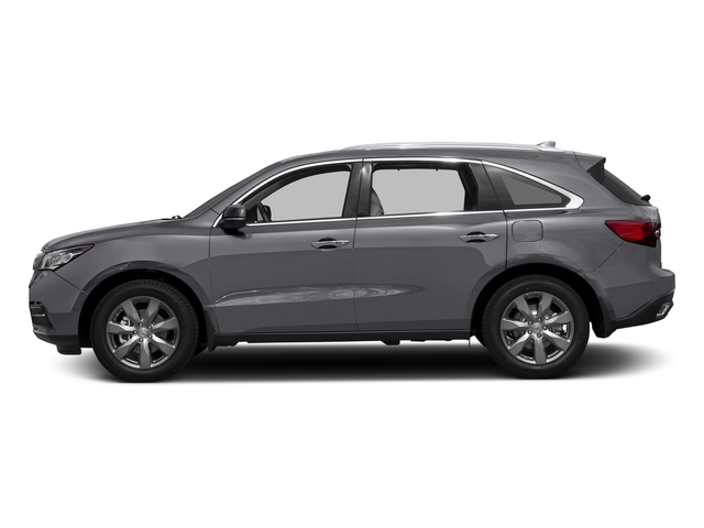 Lunar Silver Metallic 2016 Acura MDX Pictures MDX Utility 4D Advance DVD 2WD V6 photos side view