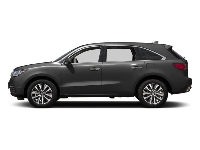 Graphite Luster Metallic 2016 Acura MDX Pictures MDX Utility 4D Technology AWD V6 photos side view