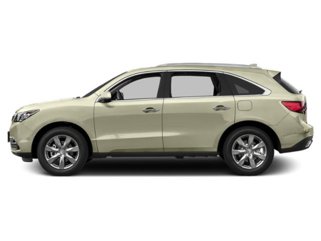 White Diamond Pearl 2016 Acura MDX Pictures MDX Utility 4D Advance 2WD V6 photos side view