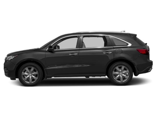 Graphite Luster Metallic 2016 Acura MDX Pictures MDX Utility 4D Advance DVD AWD V6 photos side view