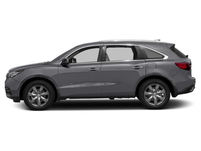 Lunar Silver Metallic 2016 Acura MDX Pictures MDX Utility 4D Advance DVD AWD V6 photos side view