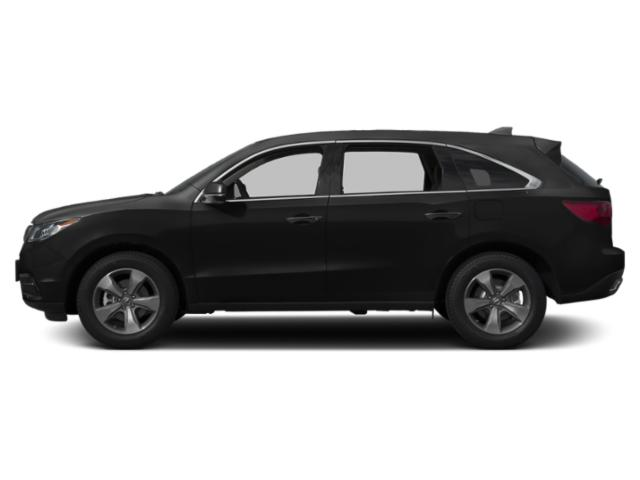 Crystal Black Pearl 2016 Acura MDX Pictures MDX Utility 4D AWD V6 photos side view