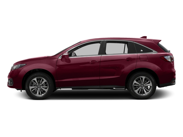 Basque Red Pearl II 2016 Acura RDX Pictures RDX Utility 4D Advance AWD V6 photos side view