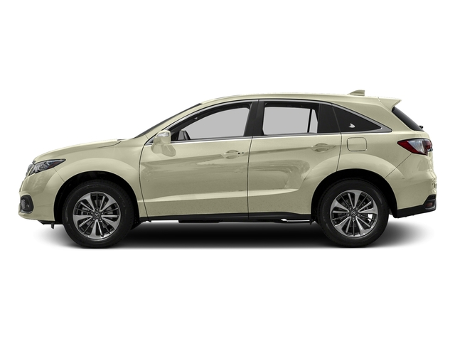 White Diamond Pearl 2016 Acura RDX Pictures RDX Utility 4D Advance AWD V6 photos side view