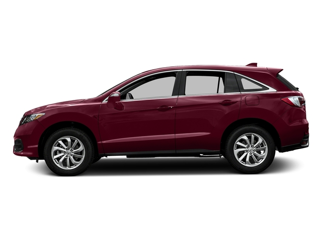 Basque Red Pearl II 2016 Acura RDX Pictures RDX Utility 4D AWD V6 photos side view