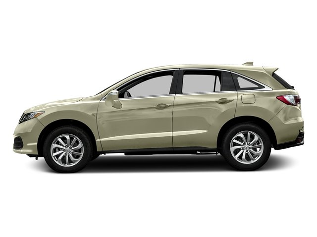 White Diamond Pearl 2016 Acura RDX Pictures RDX Utility 4D AWD V6 photos side view