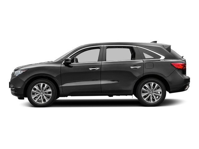 Graphite Luster Metallic 2016 Acura MDX Pictures MDX Utility 4D Technology DVD AWD V6 photos side view