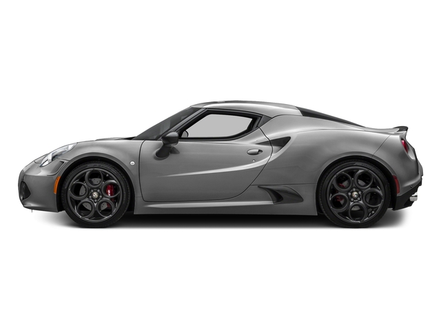 Basalt Gray Metallic 2016 Alfa Romeo 4C Pictures 4C Coupe 2D I4 Turbo photos side view