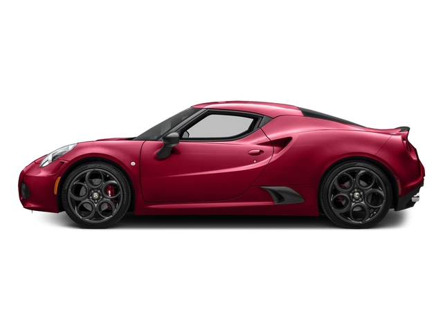 Rosso Alfa 2016 Alfa Romeo 4C Pictures 4C Coupe 2D I4 Turbo photos side view