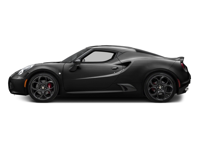 Black 2016 Alfa Romeo 4C Pictures 4C Coupe 2D I4 Turbo photos side view