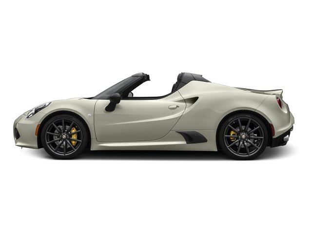 Madreperla White Tri-Coat 2016 Alfa Romeo 4C Pictures 4C Convertible 2D Spyder I4 Turbo photos side view