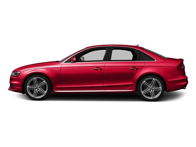 Misano Red Pearl Effect 2016 Audi S4 Pictures S4 Sedan 4D S4 Premium Plus AWD photos side view