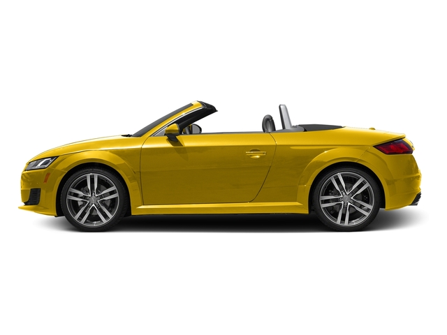 Vegas Yellow/Black Roof 2016 Audi TT Pictures TT Roadster 2D AWD photos side view