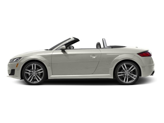 Ibis White/Black Roof 2016 Audi TT Pictures TT Roadster 2D AWD photos side view