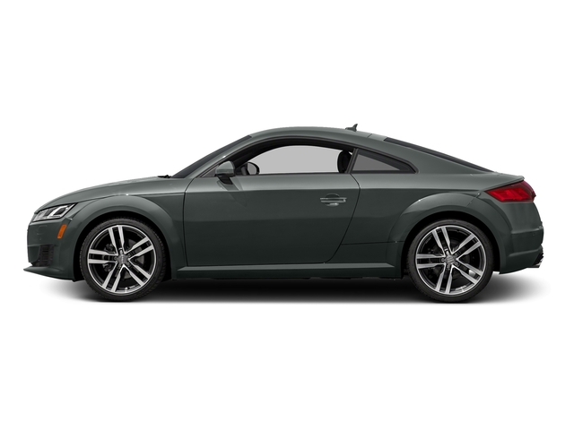 Monsoon Gray Metallic 2016 Audi TT Pictures TT Coupe 2D AWD photos side view