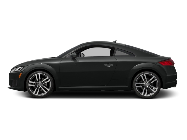 Mythos Black Metallic 2016 Audi TT Pictures TT Coupe 2D AWD photos side view