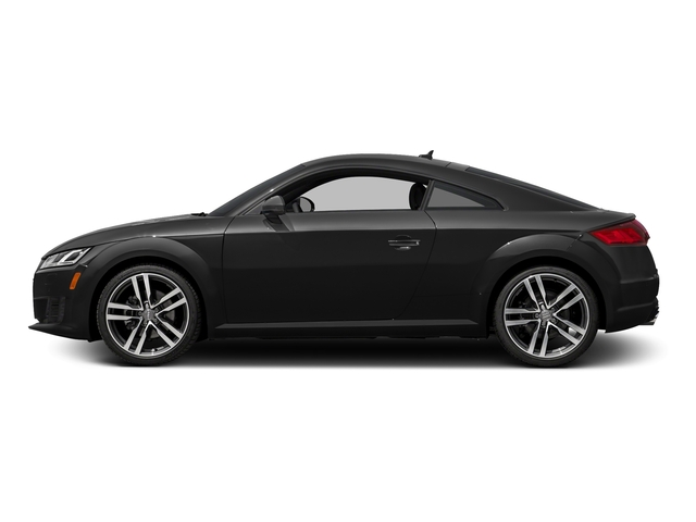 Brilliant Black 2016 Audi TT Pictures TT Coupe 2D AWD photos side view