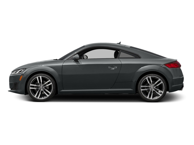 Nano Gray Metallic 2016 Audi TT Pictures TT Coupe 2D AWD photos side view