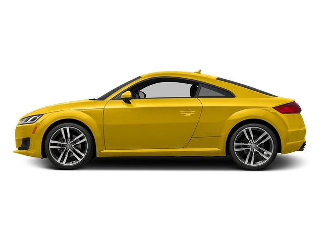 Vegas Yellow 2016 Audi TT Pictures TT Coupe 2D AWD photos side view