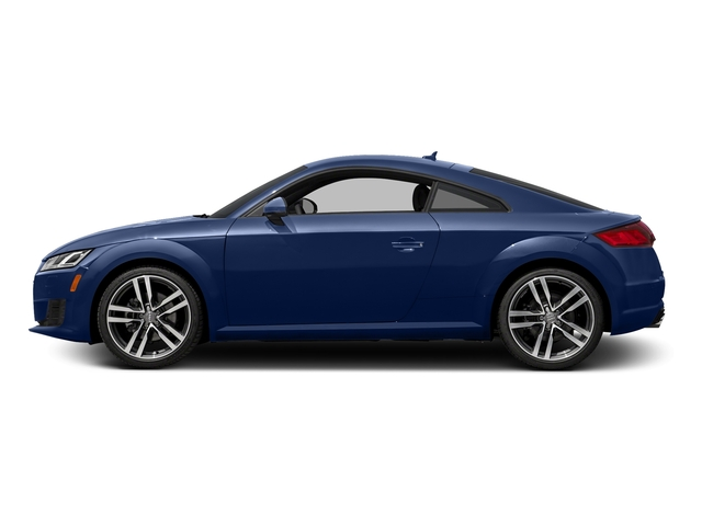 Scuba Blue Metallic 2016 Audi TT Pictures TT Coupe 2D AWD photos side view