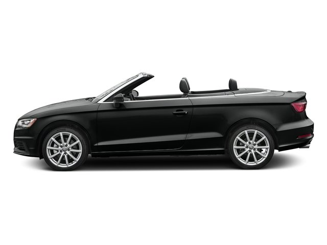Mythos Black Metallic/Black Roof 2016 Audi A3 Pictures A3 Conv 2D 2.0T Premium Plus S-Line AWD photos side view